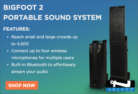 Anchor Audio BigFoot Portable Line Array Sound System